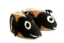 Felt Baby Booties! - Animal Shapes: Zooties, Made in Kyrgyzstan/Fair Trade & Handmade