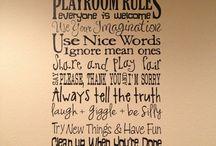playroom / by Nicole Shepherd