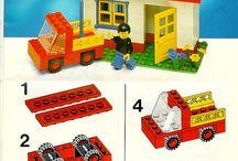 Lego-ohjeita