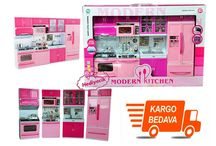 Modern Kıtchen Oyuncak Komple Pilli Mutfak Seti Oyuncak Buzdolabı Set Hediyecik.com.tr Online Oyuncak Hediye Alışveriş 7/24 Sipariş 0212 325 24 25