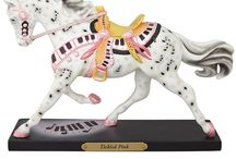 Painted Ponies / Enjoy our collection of Painted Ponies.  Trail of Painted Ponies figurines are available at Drysdales.com. Collectible renderings of the artists' work.