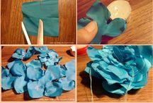 BLOEMEN MAKEN - Fabric Flowers