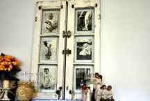 Obsessed with Old Wooden Windows! / by Kelley Wullaert