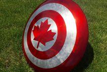 Captain Canada Costume ?