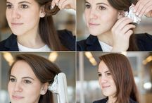 easy hairstyles&makeup