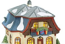 Alpine Village - Department 56 - Christmas / Our Christmas village pieces. / by Eileen Hochstein
