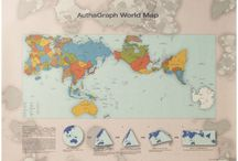 Authagraph - true relative sizes of continents & seas