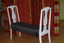 chairs repurposed