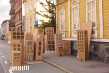 Cardboard Creations / by Roger Penguino
