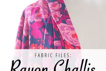 SEWING / fabric files