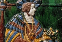Medieval and renesanse kachel