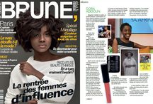 Black and Beautiful in the press / All the magazine coverage featuring Black and Beautiful Blog