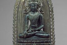 """Pala stele and iconography / Pala period - 8th to 12th Century. The word Pala means """"protector"""" in Sanskrit. The Indian states of West Bengal, Bihar and Bangladesh were ruled under the Pala Dynasty and was the last stronghold of Buddhism in India, after which Hinduism became more popular."""