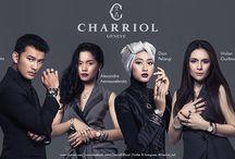 Charriol Indonesia Brand Ambassadors / CHARRIOL Indonesia proudly announces racer Alexandra Asmasoebrata, fashion designer Dian Pelangi, actor Rio Dewanto and actress Wulan Guritno as its Brand Ambassadors.