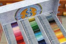 Threads / Embroidery threads, needlepoint threads, sewing threads #embroiderythread #needlepointthread #sewingthread