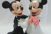 Noivinhos Mickey e Minie