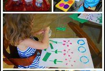 preschool recycling