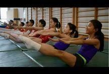 Gymnastic short films, docs, movies