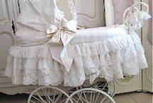 prams with lace