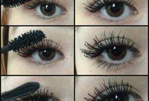 Make Up / Make up/nails tips.  / by Leslie Low