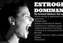 Oestrogen dominance / Oestrogen dominance