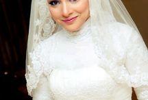 Model pakaian pengantin muslim