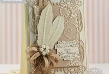 Cards--Feathers #
