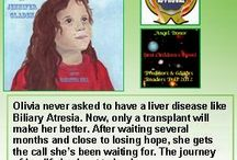 Angel Donor / A book about a child's journey toward a liver transplant.