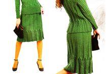 Costumase dama tricotate