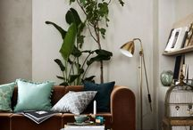Spring 2017 Interior Design / Be inspired by the fresh green leaves and flowers of spring and bring some colour into your home with the latest interior design trends for Spring 2017
