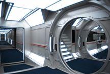 futuristic inside