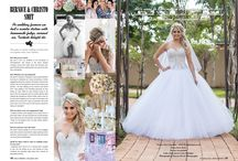 Real Brides Magazine / Chez Charlene 5 star Wedding Venue, Pretoria East Gauteng. Real brides Features.