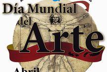 Día Mundial del arte, 15 de abril.