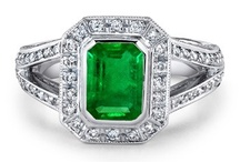 Emerald Engagement Rings / Eye soothing, fresh and extraordinarily beautiful emeralds can be a perfect choice for someone you love! Have a look at some of the best rings that are simply irresistible.  / by Angara Gemstone Jewelry Destination