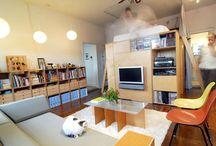 Open plan apartment idea