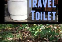 van toilet