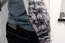 tattoo boat