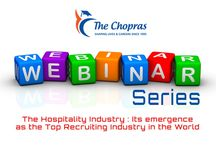 Webinar on The Hospitality Industry - Its emergence as the top recruiting industry in the world