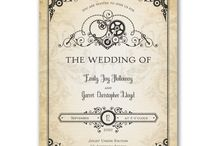 Steampunk Wedding / We've got your Steampunk theme covered, and we discount 25%!