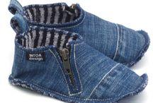 scarpe di jeans