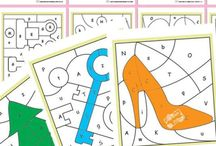 ABCs worksheets coloring pages