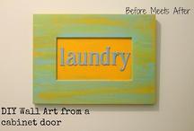 DIY Home Decor | Wall Art / by Beckie Farrant {infarrantly creative}