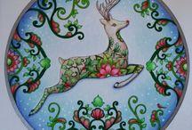 Johanna Basford Christmas