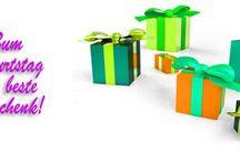 Geburtstagszeitung / Geburtstagszeitung - ist ein historisches Dokument, das Geschichten über das Geburtstagskind erzählt, weswegen sie bei keinem Geburtstag fehlen darf.