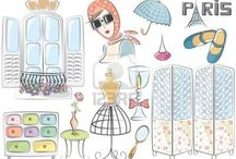 ilustrações diversas