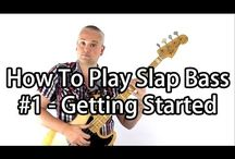 Slap Bass - Talkingbass Lessons / Here are some slap bass lessons from Talkingbass.net