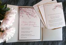 Invitation cards etc.
