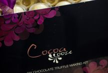Chocolate Gifts / Luxury handmade chocolate gifts.  Available to buy online at www.cocoa-ooze.co.uk/chocolate