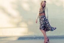 On the street - dress ** / by Stephanie Marie