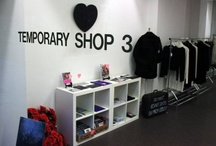 TEMPORARY SHOP / Ideas for decorating a little space for a short period.